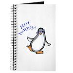 Get Happy Dancing Penguin Journal