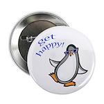 Get Happy Dancing Penguin Button