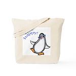 Get Happy Dancing Penguin Tote Bag