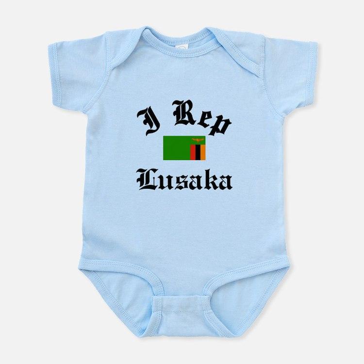 I rep Lusaka Infant Bodysuit
