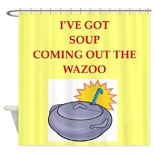 soup Shower Curtain