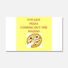 pizza Car Magnet 20 x 12
