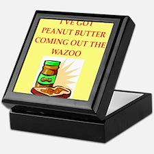 peanut butter Keepsake Box
