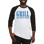 Grill instructor Baseball Jersey