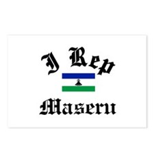 I rep Maseru Postcards (Package of 8)