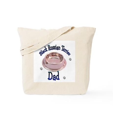 Black Russian Dad Tote Bag