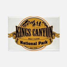 kings canyon 2 Rectangle Magnet
