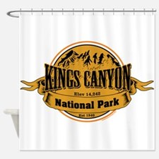 kings canyon 2 Shower Curtain
