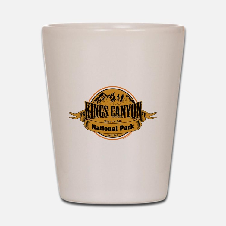 kings canyon 2 Shot Glass