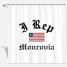 I rep Monrovia Shower Curtain