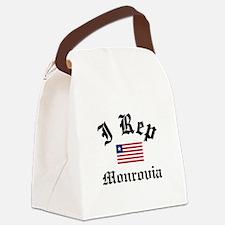 I rep Monrovia Canvas Lunch Bag