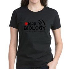 I Love Marine Biology Tee