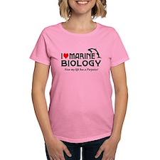 I Love Marine Biology Tee