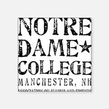 Notre Dame College Sticker