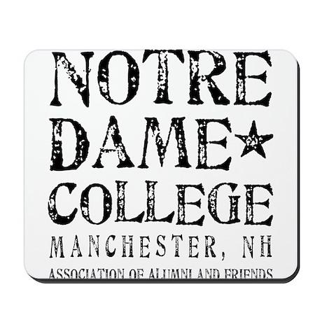 Notre Dame College Mousepad