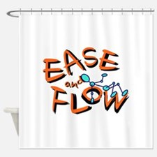 Ease and Flow Shower Curtain