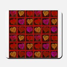 Shelving Hearts Mousepad