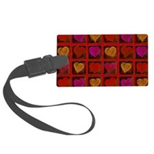 Shelving Hearts Luggage Tag