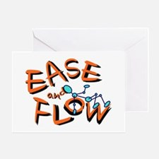 Ease and Flow Greeting Card