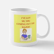mu shu Small Mugs
