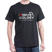 I Love Marine Biology T-Shirt