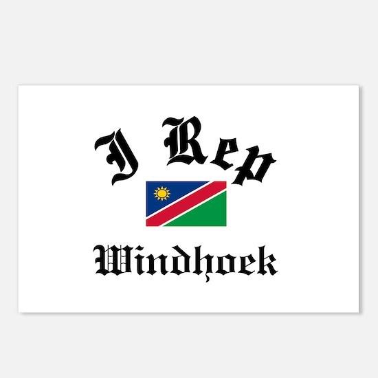 I rep Windhoek Postcards (Package of 8)