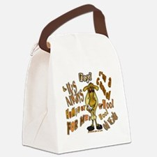 Funny Camel HumpDay -Light Canvas Lunch Bag