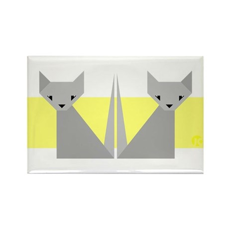 Cats Rectangle Magnet