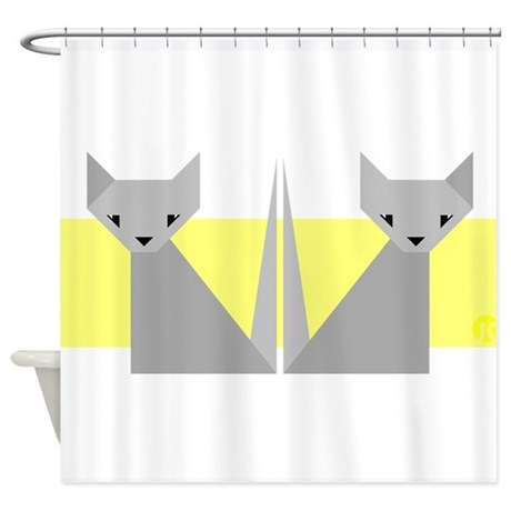 Cats Shower Curtain By Clumsyotter
