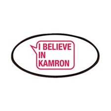 I Believe In Kamron Patches