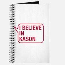 I Believe In Kason Journal