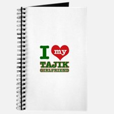I love my Tajik Girlfriend Journal