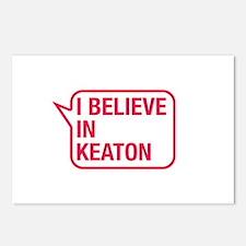 I Believe In Keaton Postcards (Package of 8)