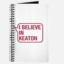 I Believe In Keaton Journal