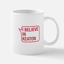 I Believe In Keaton Small Small Mug