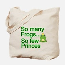 So many Frogs Tote Bag