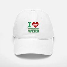 I love my Turkmen Wife Baseball Baseball Cap