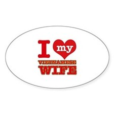 I love my Vietnamese Wife Decal