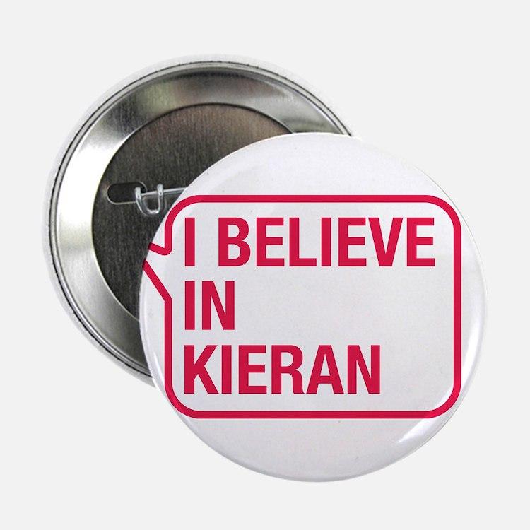 """I Believe In Kieran 2.25"""" Button"""