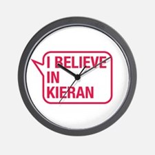 I Believe In Kieran Wall Clock