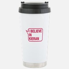 I Believe In Kieran Travel Mug