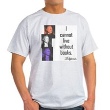 Books:  Ash Grey T-Shirt