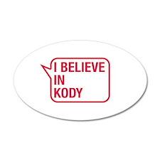 I Believe In Kody Wall Decal