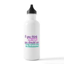 If you think I'm Cute - Grandma Water Bottle