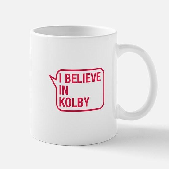 I Believe In Kolby Mug