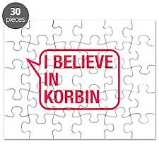 I Believe In Korbin Puzzle