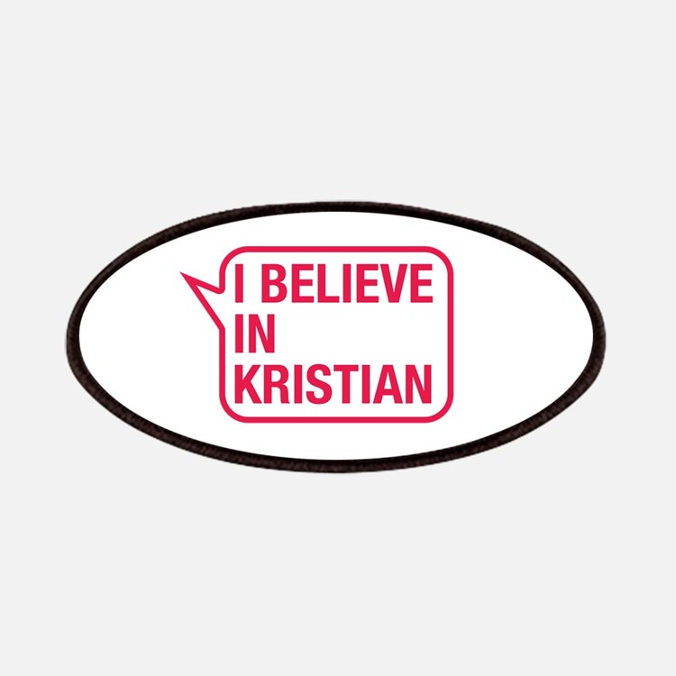 I Believe In Kristian Patches