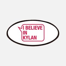 I Believe In Kylan Patches