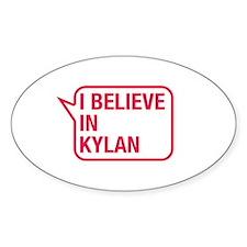 I Believe In Kylan Decal