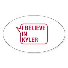 I Believe In Kyler Decal